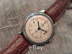 Universal Genève Compur Chronograph cal. 285 vintage watch, 1936, NOT WORKING
