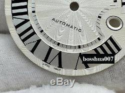V6 repair parts BIue BALLON watch case kit fit eta 2824 2892 movement sapphire