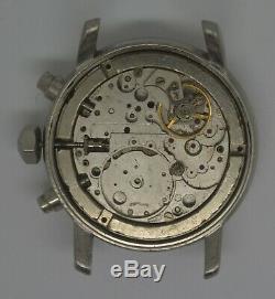 VTG BAUME-MERCIER Geneve Steel Chronograph. Cal 7750. For Parts