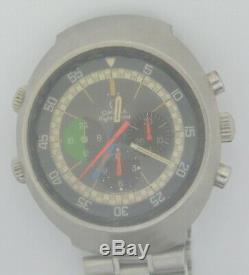 VTG OMEGA Flightmaster Steel Chronograph. Ref 145.013, Cal 910