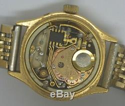 VTG OMEGA QUARTZ Gold Plated Watch. Ref 196 0123, Cal 1345. For Repairs
