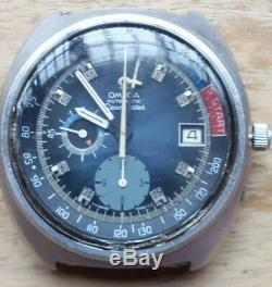 VTG OMEGA Seamaster Yachting Steel Chronograph. Ref 176.010, Cal 1040. Repair