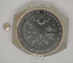 VTG OMEGA Speedmaster Steel Chrono Case & Dial. Ref 176.0012. Parts