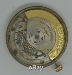 VTG VACHERON & CONSTANTIN Royal Chronometer Movt & Dial. Cal K1072/1. For Parts