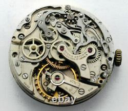 Valjoux 23 Chronograph Complete Movement with hands Running