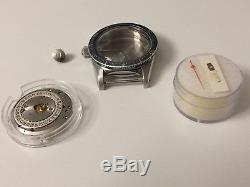 Very Rare 1960s Universal Genève Polerouter Sub Symmetric Case Parts
