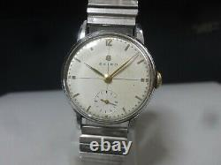 Vintage 1955 SEIKO mechanical watch Type New 10B 11014 for repair, for parts