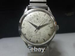 Vintage 1957 SEIKO mechanical watch Seiko Marvel 17 Jewels for parts