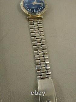 Vintage 1967 Bulova Accutron Astronaut 14k Gold Filled Watch M7 For Parts Repair