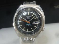 Vintage 1970 SEIKO Automatic watch SEIKO 5 SPORTS 21J 7019-6010 for parts