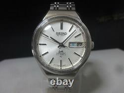 Vintage 1972 SEIKO Automatic watch LM Special 5206-6120 Original band for part