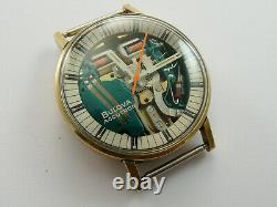 Vintage 1973 Bulova Spaceview Accutron N3 Gents Watch Not Working For Repair