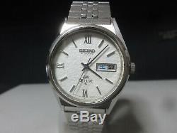 Vintage 1975 SEIKO Automatic watch LM DE LUXE 5626-8160 Original band for part