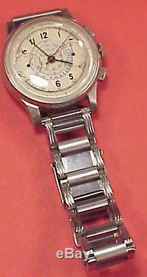 Vintage 34mm PARKER VENUS 150 COLUMN WHEEL CHRONOGRAPH Wristwatch REPAIRS