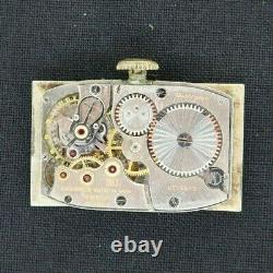 Vintage 9L Longines 17 Jewel Manual Wind Men's Watch 10k Gold Filled for Parts