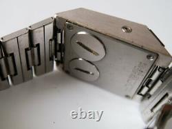 Vintage BULOVA COMPUTRON LED Watch Original Bracelet FOR PARTS