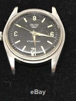 Vintage Bulova Caravelle 666 Feet Diver Style Man's Watch For Parts