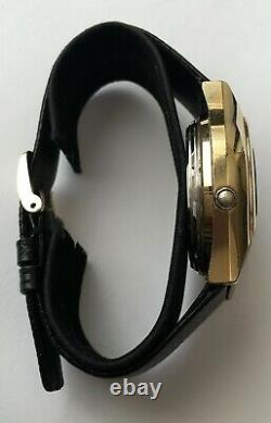 Vintage Bulova led Computron watch Water Resistant N6 Not working for repairs