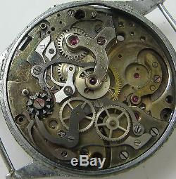 Vintage DOXA CHRONOGRAPH WATCH FOR PARTS