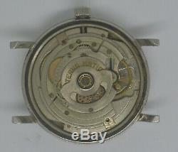 Vintage ETERNA-MATIC 1000 Steel Watch. Ref 106FT, Cal 1489K. For Repairs