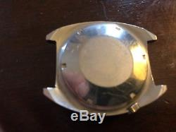 Vintage Elgin Diving Diver Day / Date Watch Stainless Not Working
