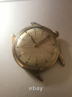 Vintage Eterna-Matic Watch 1960's 10k Gold Filled for Parts repair