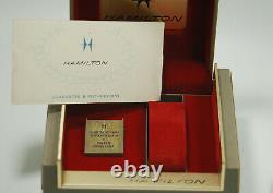 Vintage Hamilton Count Down Chrono with Box