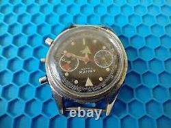 Vintage J. P pingouin/ Arnex Chronograph Wrist Watch, Missing Bezel, For Parts