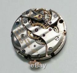 Vintage Jaeger LeCoultre Moonphase Watch Movement & Dial For Parts (TP171)