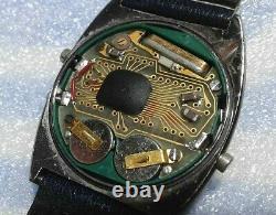 Vintage LCD Watch Certina Quartz 1976 with Certina bracelet. Repair