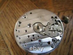 Vintage LONGINES Chronograph Movement. Cal. 30CH. For parts. Early Serial. 1948