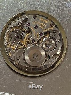 Vintage Lecoultre 480/cw Mens Watch Movement For Parts Or Repair