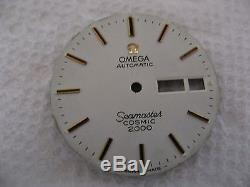 Vintage Men's Omega Seamaster Cosmic 2000 Watch For Parts Like Found It