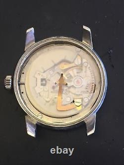 Vintage Nicaea Grenchen Electric watch For Parts Or U Repair