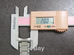 Vintage OMEGA Speedmaster 1168 Bracelet band & 677 End pieces 20mm for Parts