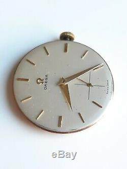 Vintage Omega 266 gents watch movement with dial serviced