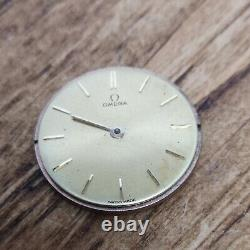 Vintage Omega Cal 540 Watch Movement for Repair, Parts, Includes Dial (BT104)
