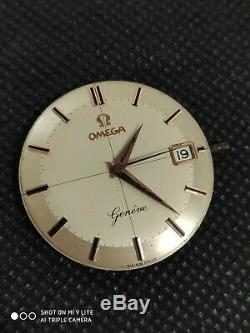 Vintage Omega Geneve 610 Cross-Hair movement with dial. Running