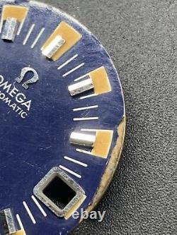 Vintage Omega Seamaster 120 Big Blue