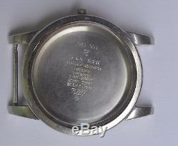 Vintage Omega Stainless steel Watch Case. Reference 166.087