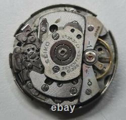 Vintage Original Seiko POGUE 6139B Cronograph Automatic Movement For Parts