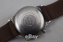 Vintage Pierce 1940's Chronograph Rare Watch for Parts/Repair