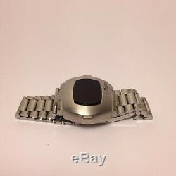 Vintage Pulsar P3 LED Watch Digital Time Computer James Bond (For Parts)