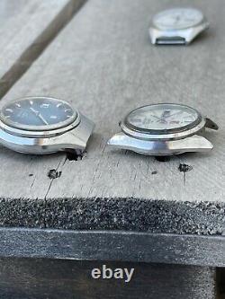 Vintage Quartz and Elnix SG Seiko watches for parts/repair