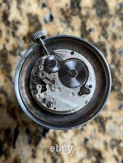 Vintage Rapid Salmon Dial Mens Watch Fancy Lugs 34mm NOT WORKING 4 PARTS, REPAIR