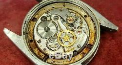 Vintage Rolex Ref 6694 Case, Cal 1225 Non-Working Watch Movement For Spare Parts