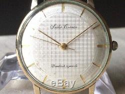Vintage SEIKO Hand-Winding Watch/ CRONOS 21J 14K Gold Filled 1960s For Parts