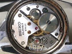 Vintage SEIKO Hand-Winding Watch/ LORD MARVEL 5740-8000 SS 23J 1970 For Parts