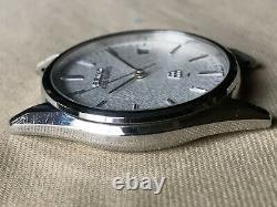 Vintage SEIKO Quartz Watch/ KING TWIN QUARTZ 9642-8000 SS 1982 For Parts