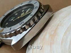 Vintage Scubapro 500 Diver Watch withAll SS Case, ETA 2784 Mvmt FOR PARTS/REPAIR
